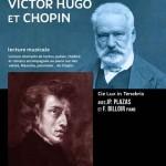 Balade avec Victor Hugo et Chopin - Pièce de théâtre Lecture Piano